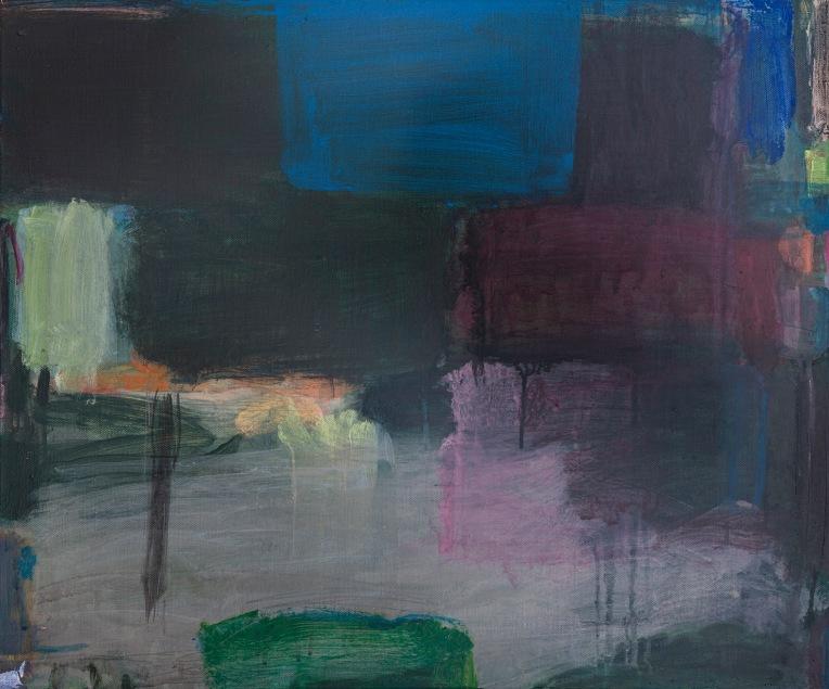 KS_8Mar20_04B Web Version 'Two Blues' acrylic on canvas Kate Scott 2020
